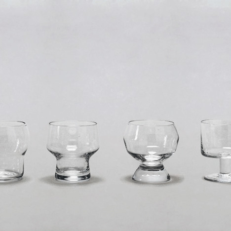 La Famiglia glassware by Ding3000 stacks neatly onto each other