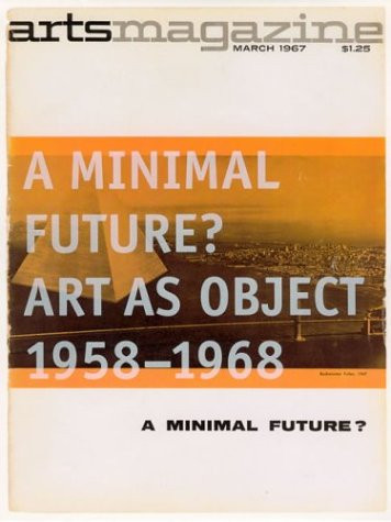 A Minimal Future? Art as Object 1958 - 1968 | MOCA Store Online