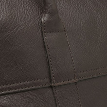 Piccadilly in Chocolate Natural Leather | Travel | Mulberry