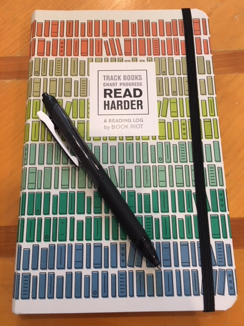 Read Harder, A Reading Log by Book Riot and Piet Aukeman
