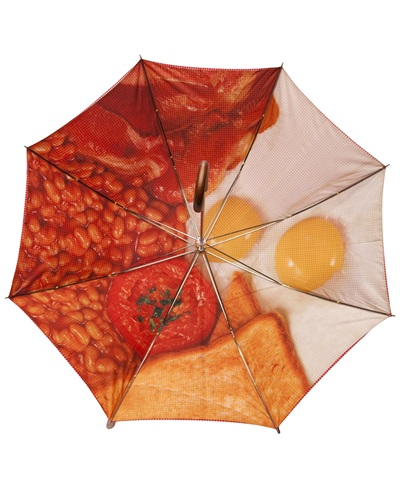 London Undercover English Breakfast Umbrella - Any Old Iron ($50-100) - Svpply