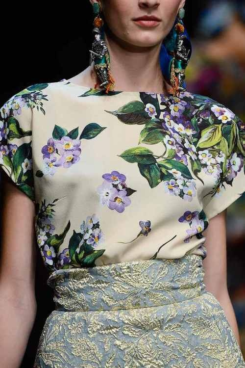 Dolce & Gabbana Spring 2013 Details   Haute Couture