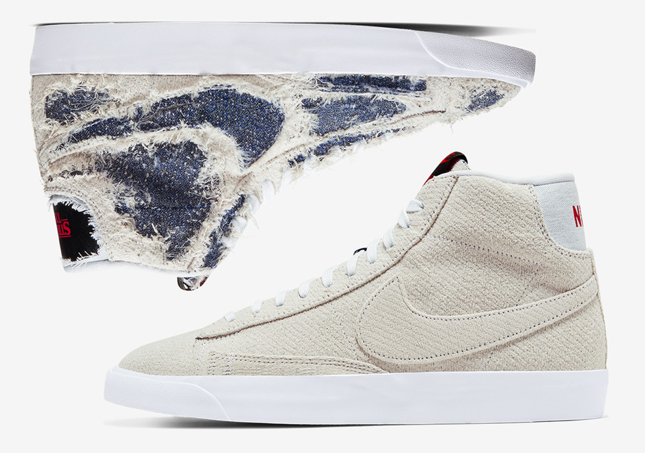 Where To Buy Stranger Things Nike Blazer Upside Down | SneakerNews.com