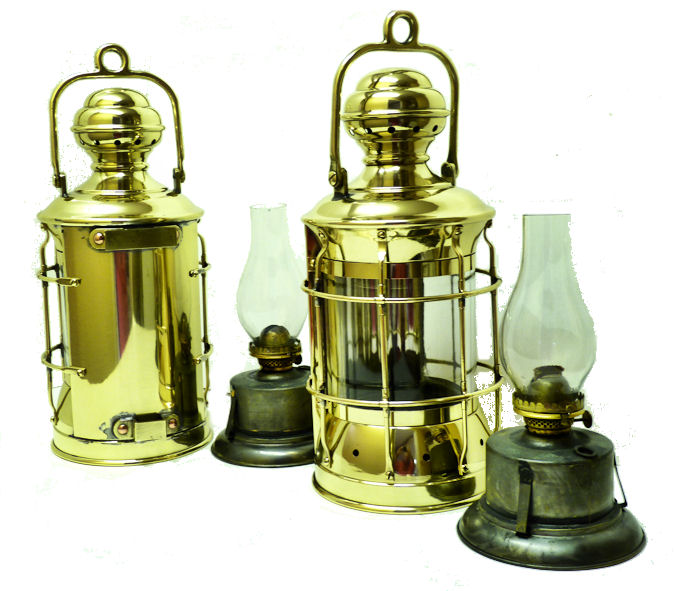 Ships Lights Lanterns Navigation Lamps BRASS