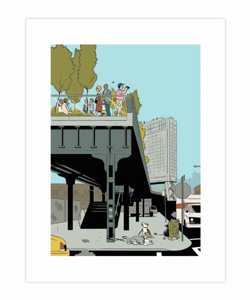 Adrian Tomine : IN THE CITY / ...