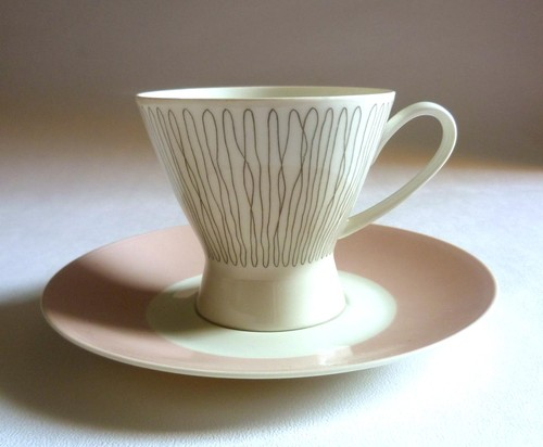 LUCIENNE DAY rare 'COLUMBINE' CUP & SAUCER. Rosenthal, Germany 1958. Heals | eBay