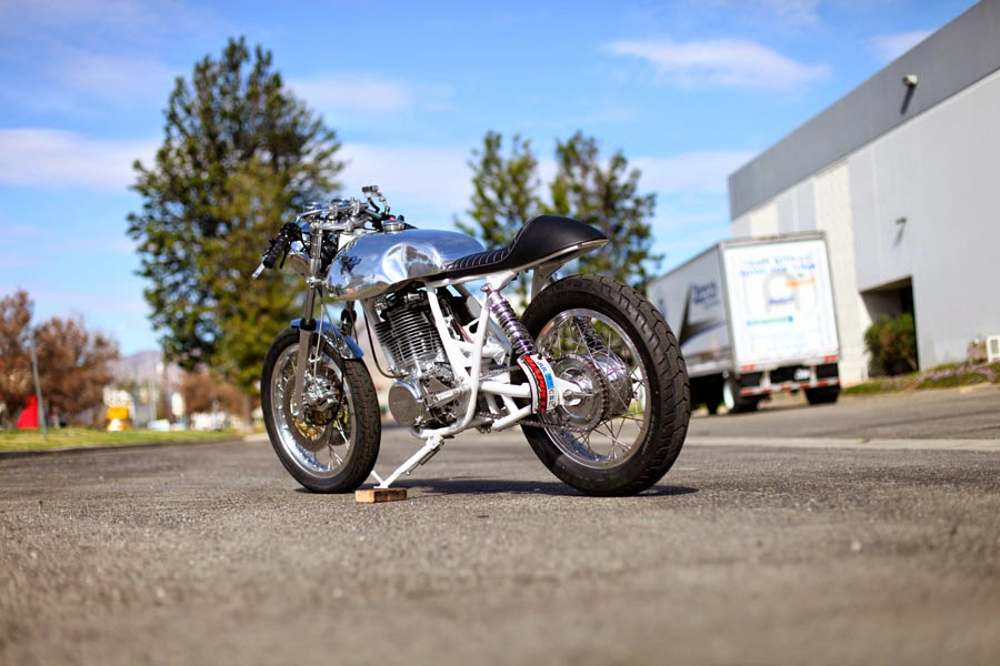 Yamaha SR500 by Chappell Customs   Bike EXIF