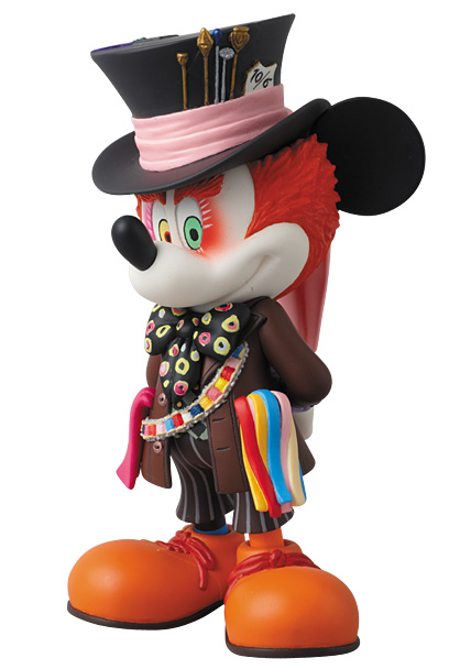 MEDICOM TOY - UDF MICKEY MOUSE(as MAD HATTER)