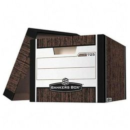 Fellowes Officemax bankers Box R Kive Storage Boxes, Letter/Legal, Woodgrain - Product Reviews and Prices - Shopping.com