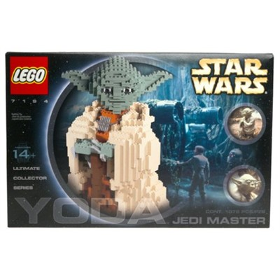 ProductWiki: LEGO Star Wars Ultimate Collector Series Jedi Master Yoda - Construction and Building Toys