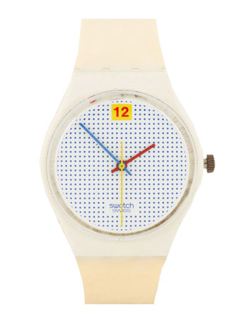 がびょうをごくり: shunta: Vintage Swatch Dotted Swiss Watch | Shop...