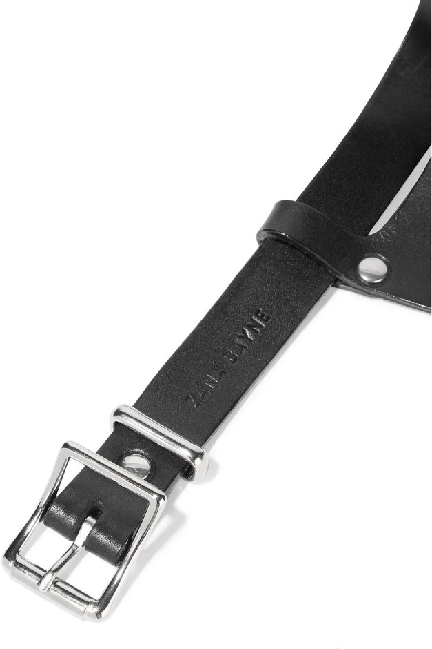 Zana Bayne | Leather waist belt | NET-A-PORTER.COM
