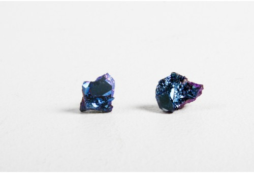 Oak | a.ok blue crystal earrings Oak
