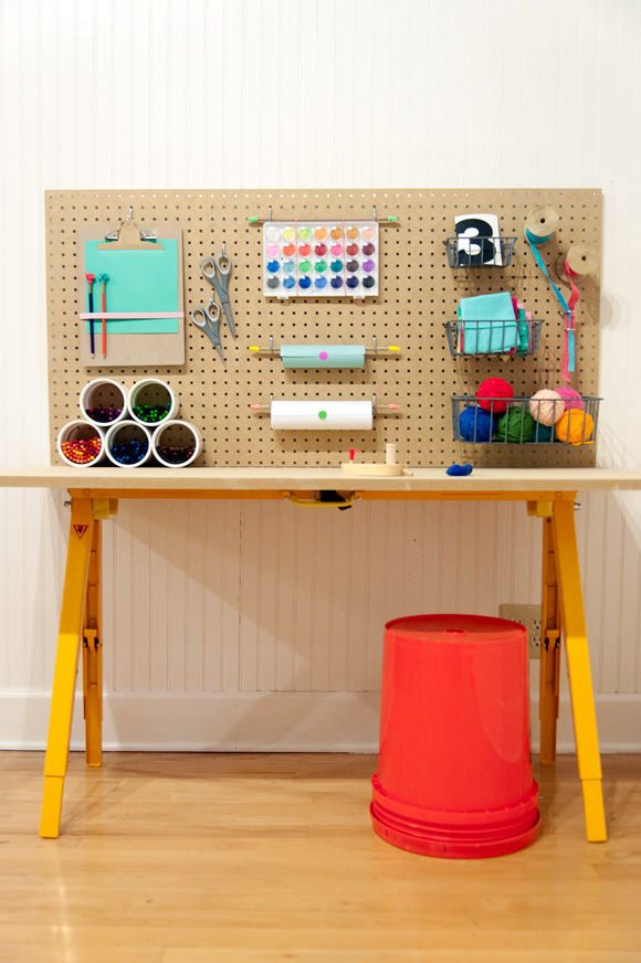 Store All Of Your Kid's Crafts For Under $50