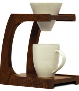 Beautiful Pourover Stand by Clive Coffee -- AT HOME