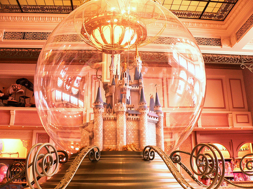 Carriage,Castle,Cinderella,Disney,Golden,Happily ever after - inspiring picture on PicShip.com