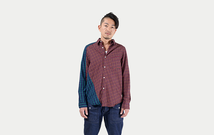 Nepenthes New York/Loftman Exclusive Twisted Shirt