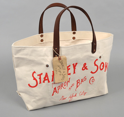 S&S LOGO TOTE BAG :: HICKOREE'S HARD GOODS