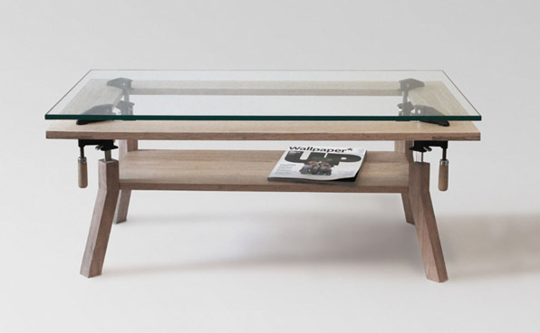 Clamp Coffee Table by Nonlinear Studio | Roger Allen