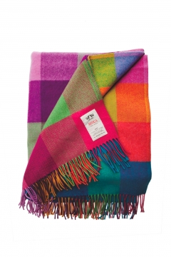 Avoca Circus Lambswool Throw