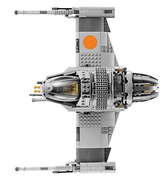 Star Wars x LEGO Ultimate Collector Series: B-Wing Starfighter | FreshnessMag.com