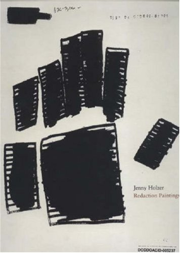 Amazon.co.jp: Jenny Holzer: Redaction Paintings: Jenny Holzer: 洋書