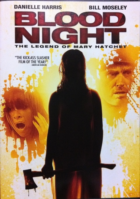 DVD『BLOOD NIGHT THE LEGEND OF MARY HATCHET』観る。 on Twitpic