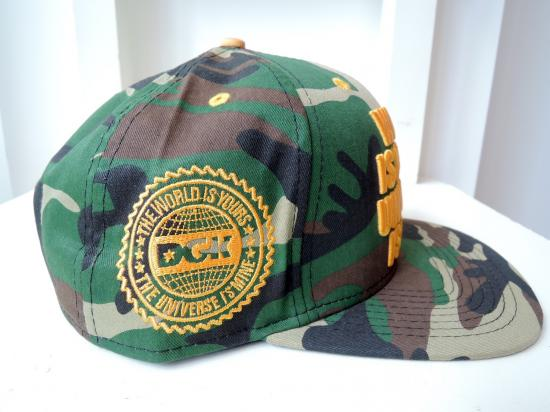 DGK / THE WORLD IS YOURS SNAP BACK CAP CAMO - Counter