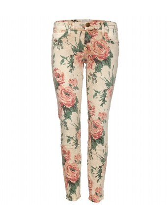 mytheresa.com - Current/Elliott - THE STILETTO FLORAL PRINT SKINNY JEANS - Luxury Fashion for Women / Designer clothing, shoes, bags