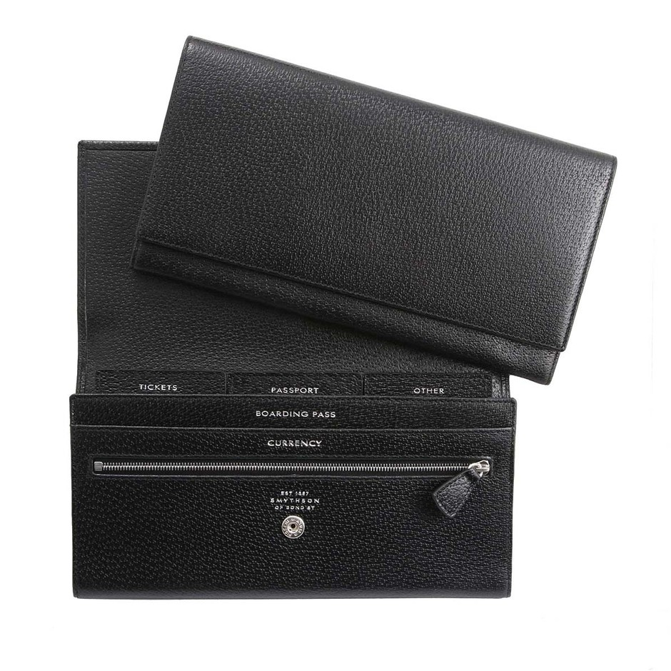 SMYTHSON PIGSKIN TRAVEL WALLET - Google 画像検索