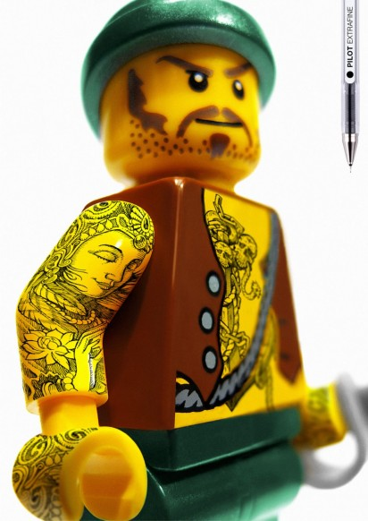 Eric Miltsch | Bad Ass LEGO Tattoos - Coolest Sh%# I've Ever Seen!