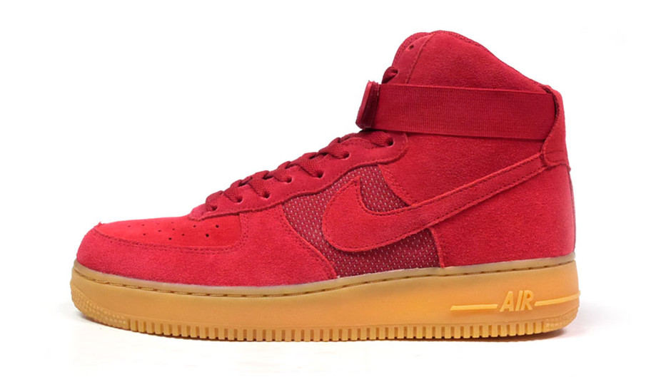 "AIR FORCE I HIGH 07 LV8 ""LIMITED EDITION for ICONS"" RED/GUM ナイキ NIKE 