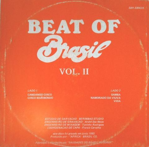 V.A. BEAT OF BRAZIL VOL.2の画像:まわるよレコード ACE WAX COLLECTORS