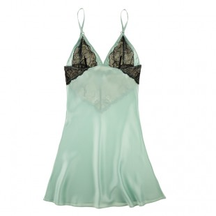 Buy Samantha Chang Luxury Lingerie - Samantha Chang French Leavers Lace Charlotte chemise | Journelle Fine Lingerie