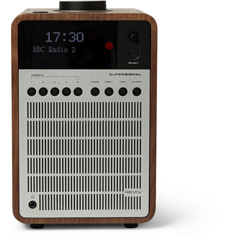 Revo - SuperSignal Walnut and Aluminium Digital Radio | MR PORTER