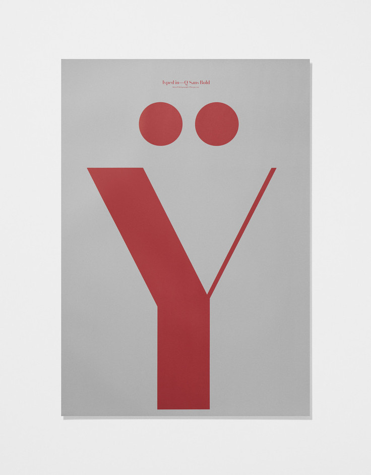 In Love With Typography 5 — Y | PLAYTYPE