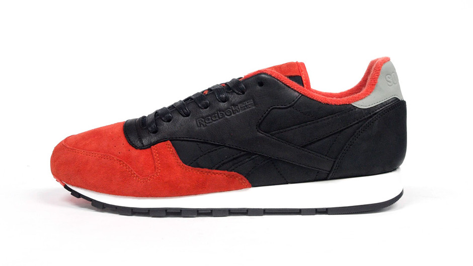 CL LEATHER LUX 「solebox」 「CL LEATHER 30th ANNIVERSARY」 ORG/BLK/SLV リーボック Reebok   ミタスニーカーズ ナイキ・ニューバランス スニーカー 通販