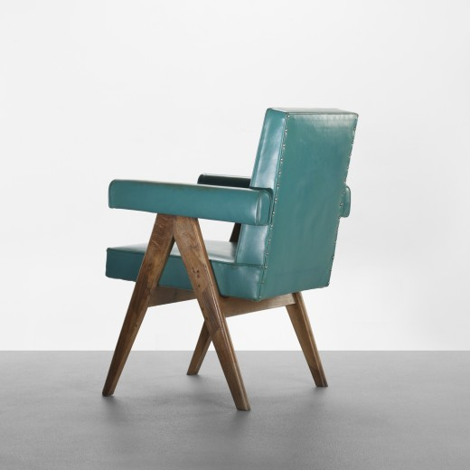 160: Pierre Jeanneret / Committe armchair from High Court, Chandigarh < Important Design, 09 June 2011 < Auctions | Wright