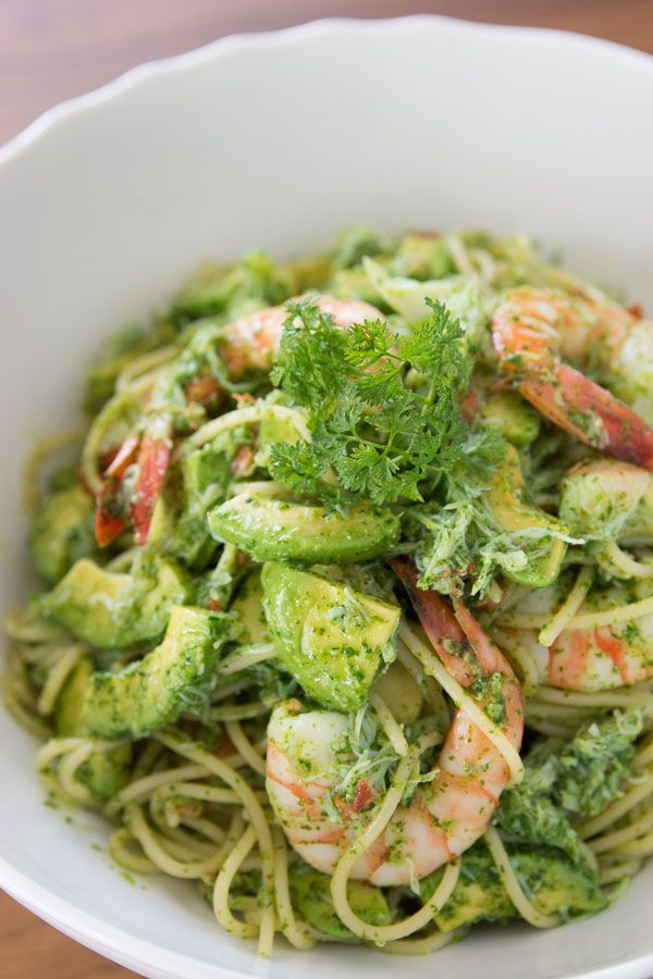 Seafood and Avocado Pasta | Gastronomy | Pinterest