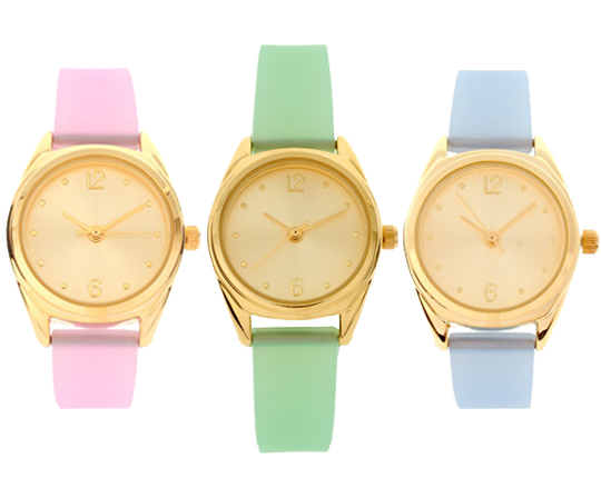 Fallon Confidential: Cheap and Chic: ASOS Pastel Jelly Watches Under $35