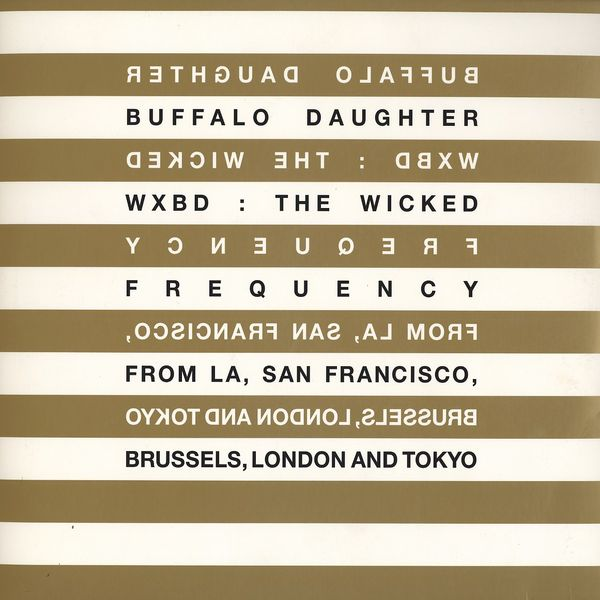 "Buffalo Daughter - WXBD remixes(12"") 