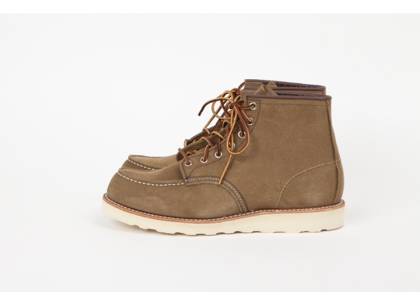 """Red Wing Shoes 8881 - 6"""" Moc Olive Mohave bij Redwing"""