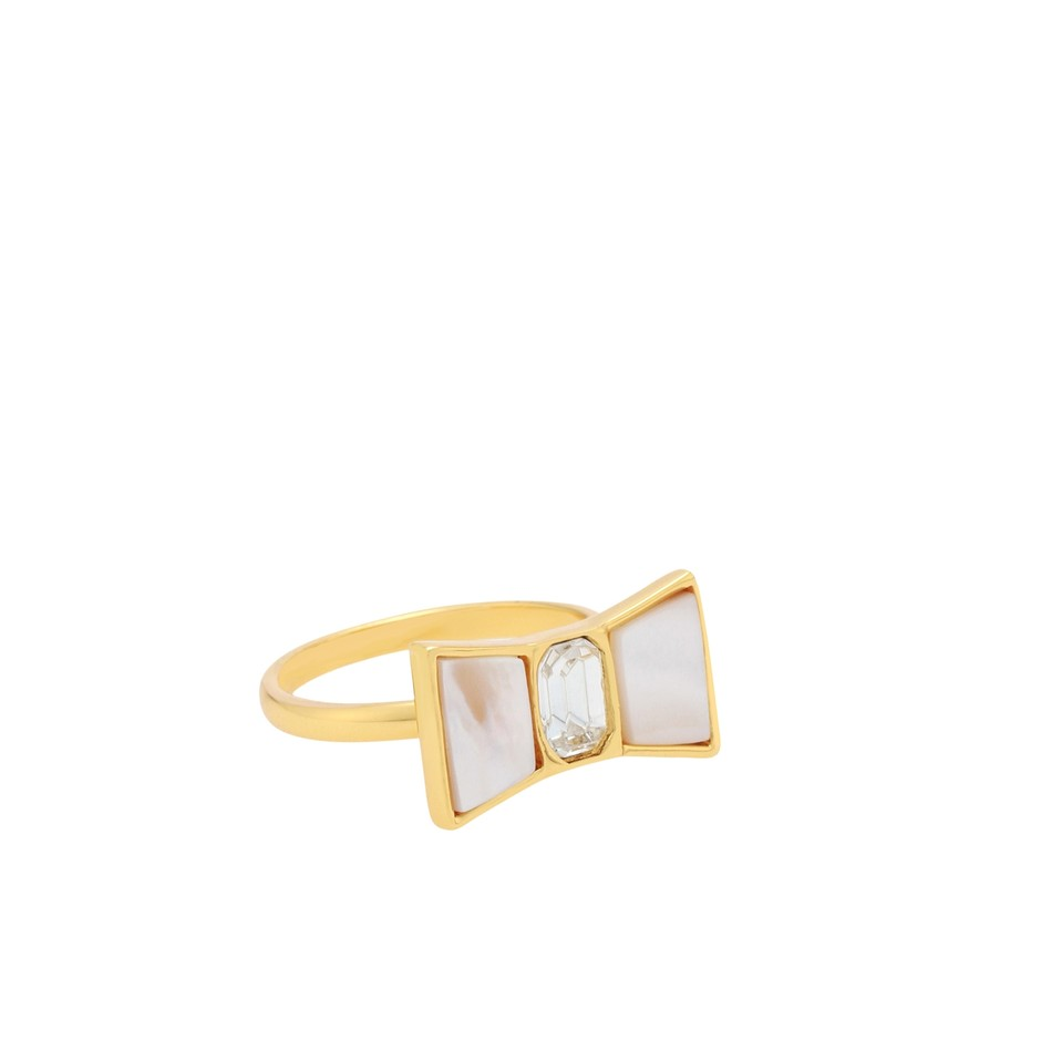 kate spade new york / bow shoppe ring