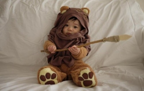 ewock! lukas' halloween costume for next year! :D