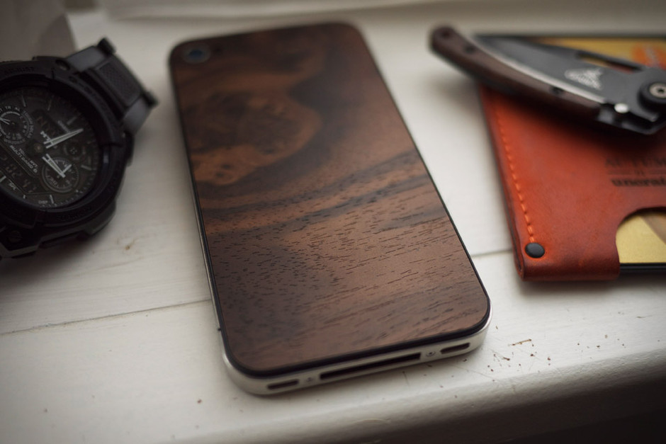 Material 6 Wood iPhone Backs | Uncrate