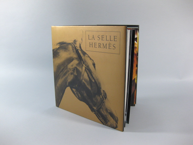 Hermes - Authentic La Selle Hermes 1993 Collector Edition Saddle Book | MALLERIES