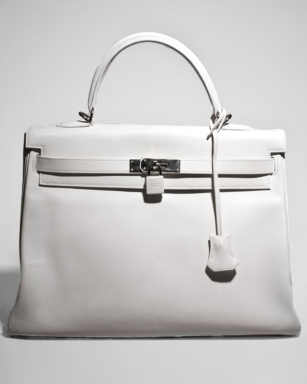 Bags / Hermès White Kelly! How Chic