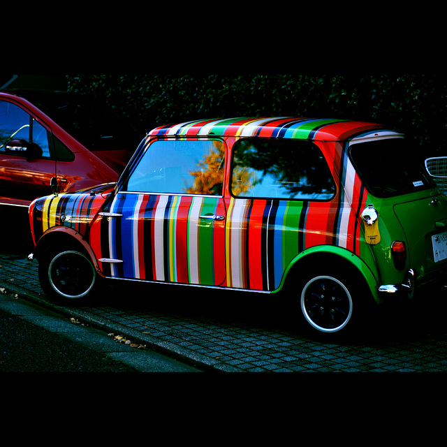 Paul Smith meets Rover mini | Flickr - Photo Sharing!