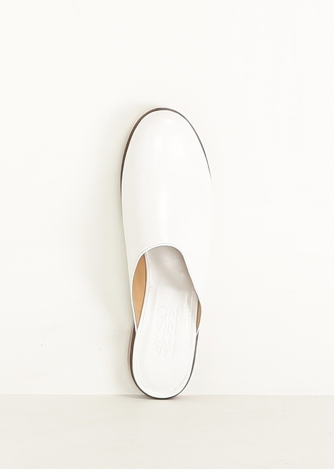 Totokaelo - Martiniano White Muller Slip-on