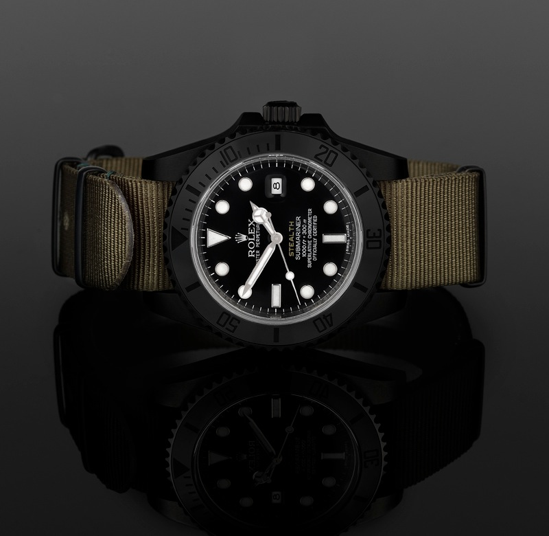 Project X Stealth Military Rolexes (Photos) - Luxist